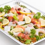 魚介類のカルパッチョサラダ